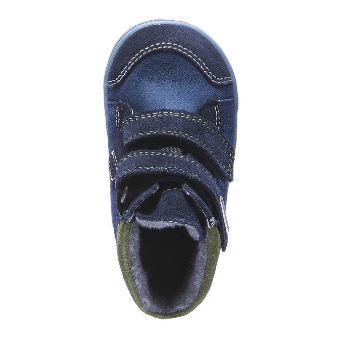 Dziecięce buty skórzane richter, niebieski, 193-9004 - 19