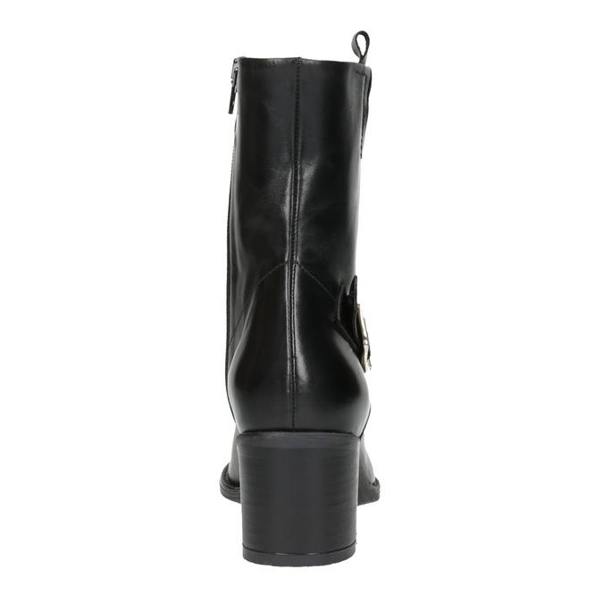 Damskie botki bata, czarny, 694-6359 - 17
