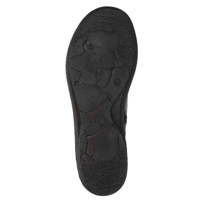 Damskie botki bata, czarny, 526-6602 - 26