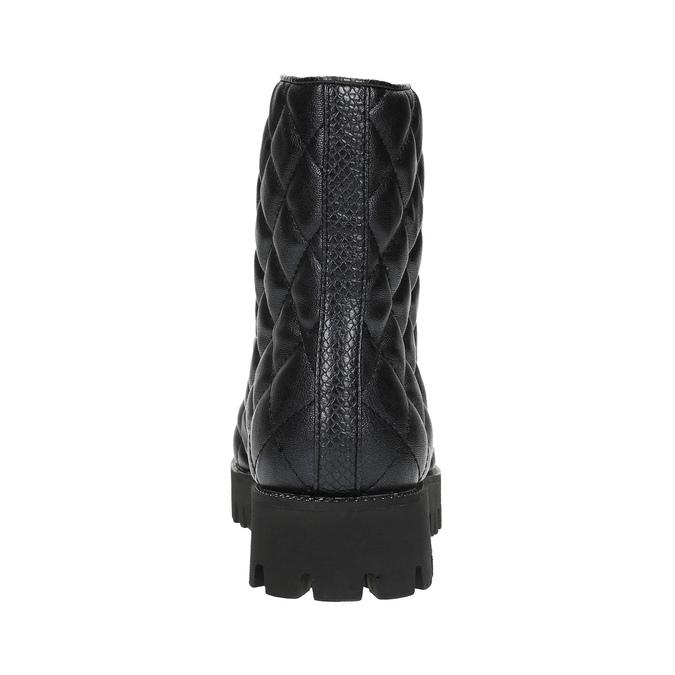 Botki damskie bata, czarny, 591-6614 - 17