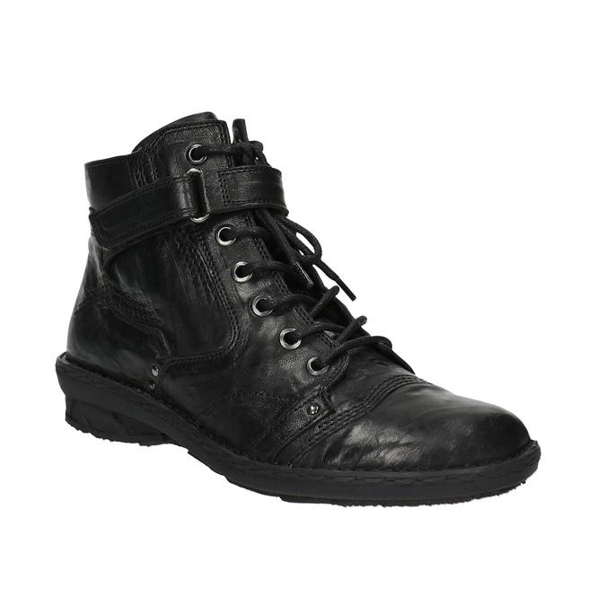 Damskie botki bata, czarny, 526-6602 - 13