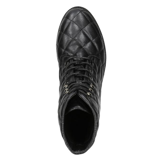Botki damskie bata, czarny, 591-6614 - 19