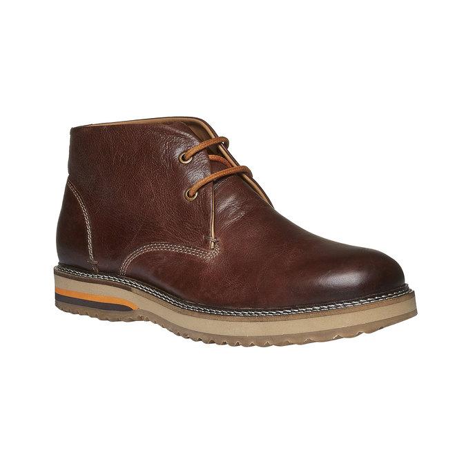 Skórzane buty do kostki typu desert bata, brązowy, 894-3114 - 13