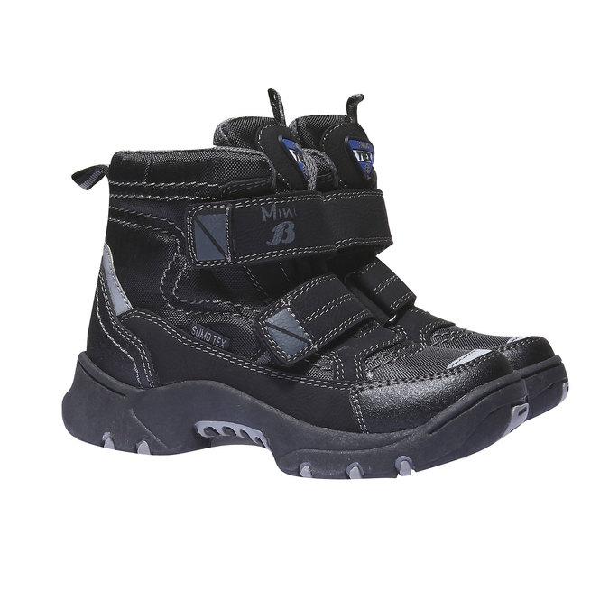 Buty dziecięce mini-b, czarny, 499-6109 - 26
