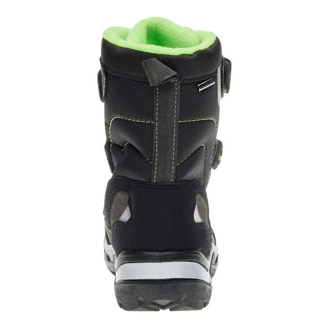 Skórzane buty zimowe mini-b, szary, 499-2110 - 17