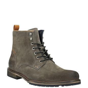 Męskie botki bata, szary, 893-2651 - 13