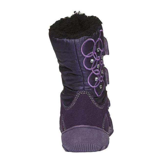 Buty dziecięce mini-b, fioletowy, 293-5100 - 17