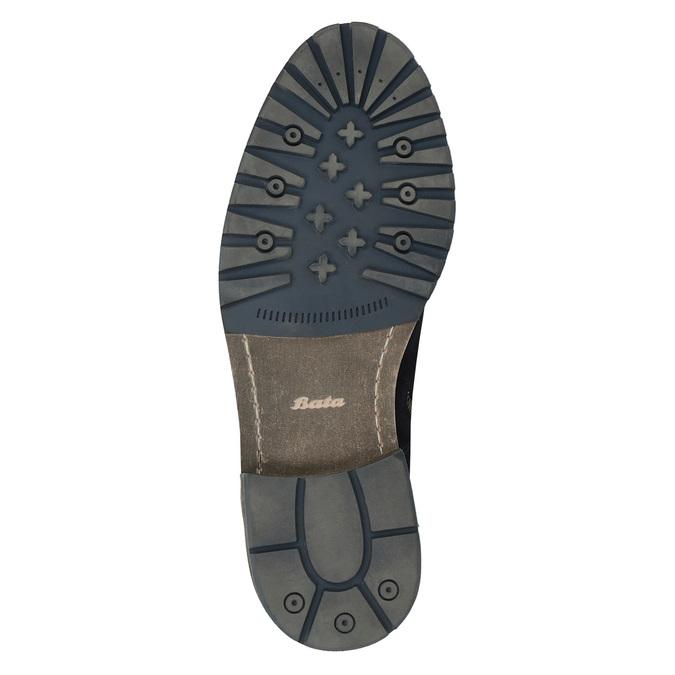 Skórzane botki bata, niebieski, 893-9651 - 26