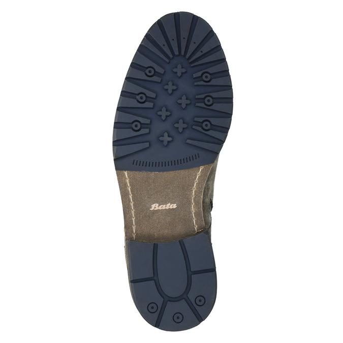 Męskie botki bata, szary, 893-2651 - 26