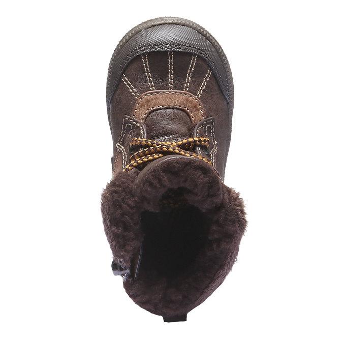 Buty dziecięce mini-b, brązowy, 191-4100 - 19