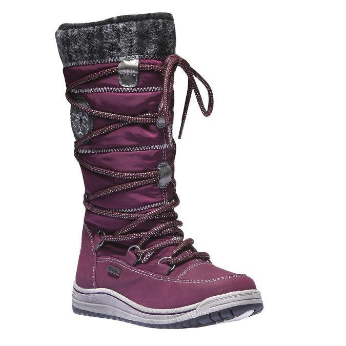 Dziewczęce buty zimowe mini-b, fioletowy, 299-9142 - 13