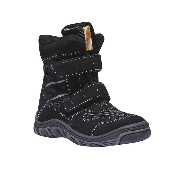 Buty dziecięce mini-b, czarny, 393-6101 - 13