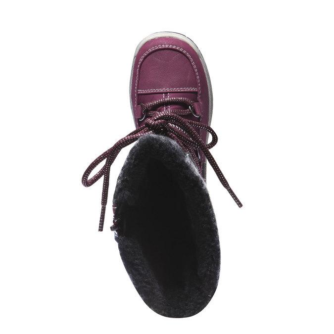 Dziewczęce buty zimowe mini-b, fioletowy, 299-9142 - 19