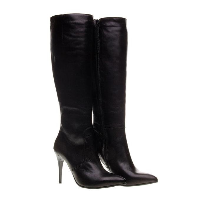 Botki damskie bata, czarny, 794-6119 - 26