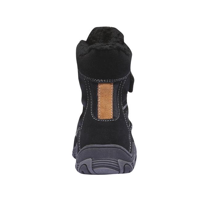 Buty dziecięce mini-b, czarny, 393-6101 - 17