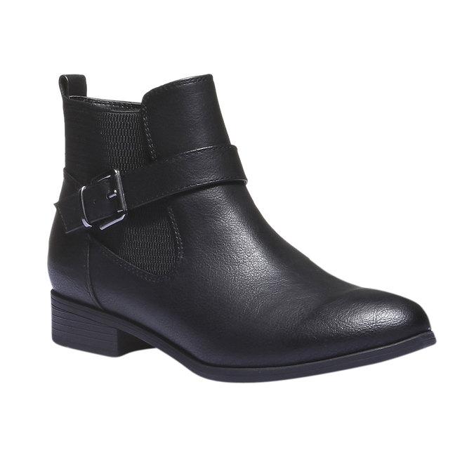 Damskie botki bata, czarny, 591-6113 - 13