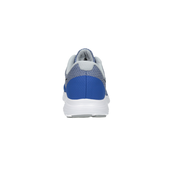 Niebieskie sportowe trampki dziecięce nike, niebieski, 409-9322 - 17