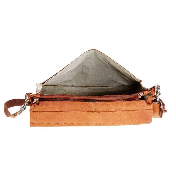 Skórzana aktówka bata, brązowy, 964-3138 - 15