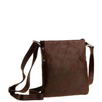 Skórzana torba listonoszka bata, brązowy, 964-4113 - 13