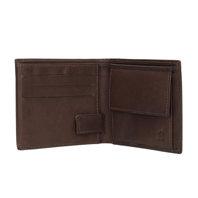 Skórzany portfel męski bata, brązowy, 944-4175 - 15