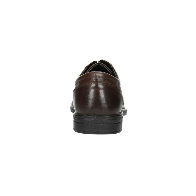 Półbuty męskie ze skóry bata, brązowy, 824-4743 - 17