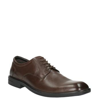 Półbuty męskie ze skóry bata, brązowy, 824-4743 - 13