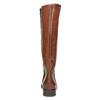 Damskie skórzane kozaki bata, brązowy, 596-4608 - 17