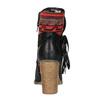 Ocieplane botki w stylu kowbojskim bata, czarny, 699-6603 - 17