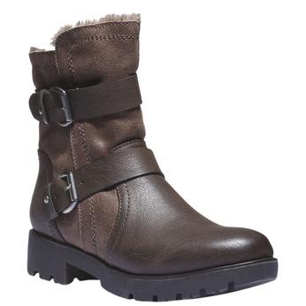 Buty zimowe bata, brązowy, 591-4108 - 13