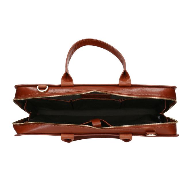 Damska skórzana torba royal-republiq, brązowy, 964-3002 - 15