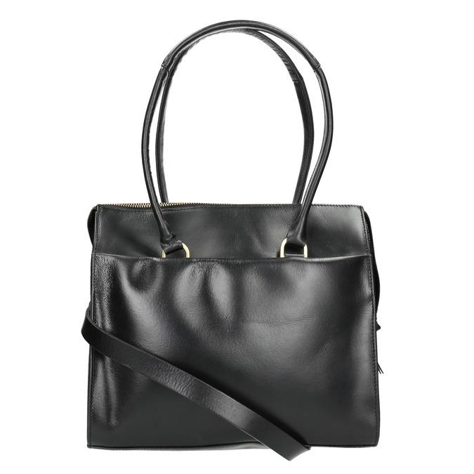 Skórzana torba zodpinanym paskiem royal-republiq, czarny, 964-6018 - 19