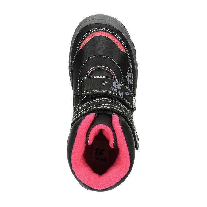Dziecięce botki mini-b, czarny, 299-6610 - 19