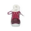 Zimowe buty dziewczęce zfuterkiem bubblegummer, czerwony, 199-5600 - 17