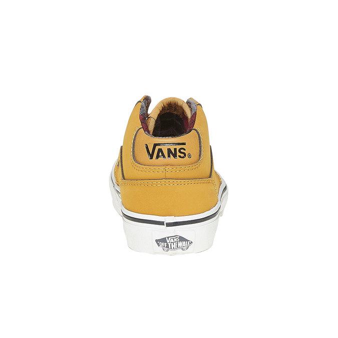 Dziecięce buty sportowe marki Vans vans, żółty, 401-8235 - 17