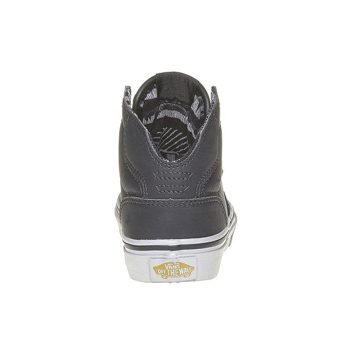 Dziecięce buty sportowe do kostki vans, szary, 401-6310 - 17