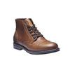 Skórzane buty na co dzień bata, brązowy, 894-3555 - 13