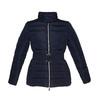 Damska kurtka z klamerką bata, niebieski, 979-9640 - 13