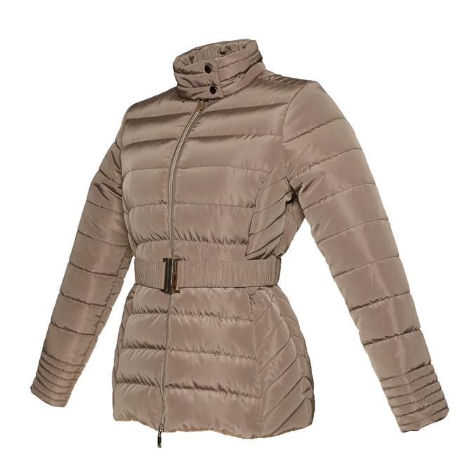 Damska kurtka z klamerką bata, brązowy, 979-8640 - 16