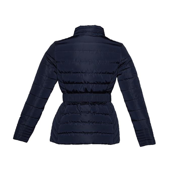 Damska kurtka z klamerką bata, niebieski, 979-9640 - 26