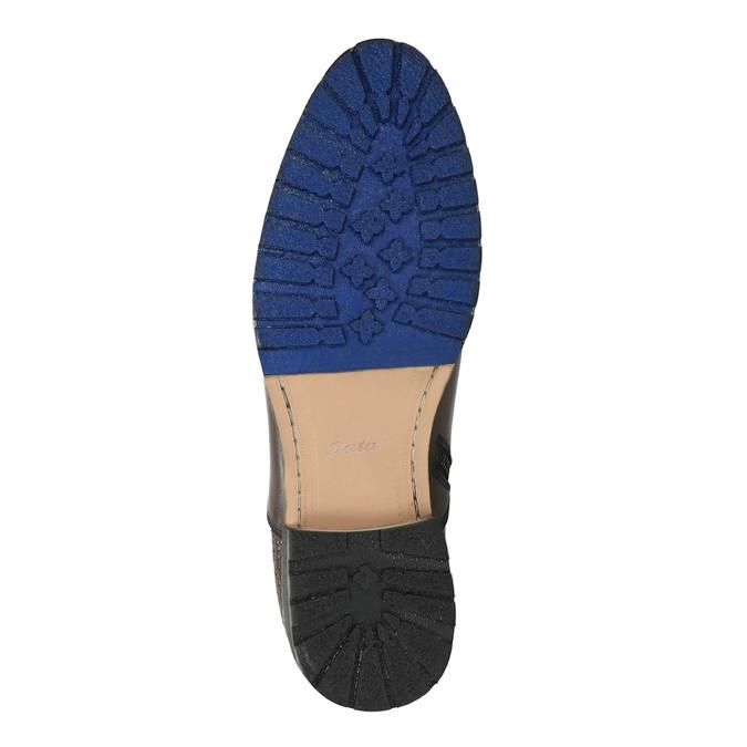 Męskie botki ze sprzączką bata, brązowy, 894-4652 - 26