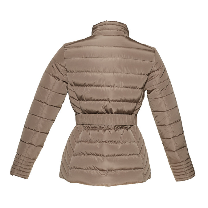 Damska kurtka z klamerką bata, brązowy, 979-8640 - 26