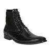 Skórzane ocieplane buty za kostkę conhpol, czarny, 894-6677 - 13