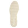 Ocieplane skórzane trampki za kostkę bata, brązowy, 896-4651 - 26