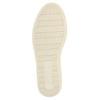 Ocieplane skórzane trampki za kostkę bata, szary, 896-2651 - 26