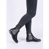 Damskie skórzane buty Chelsea Boots bata, czarny, 596-6607 - 14