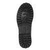 Skórzane buty z oryginalnym sznurowaniem bata, czarny, 894-6180 - 26