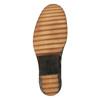 Skórzane kozaki damskie nagrubej podeszwie manas, brązowy, 696-7600 - 26