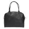 Skórzana torba ze sztywnymi uchwytami vagabond, czarny, 964-6002 - 19
