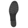 Skórzane botki bata, czarny, 696-6101 - 26
