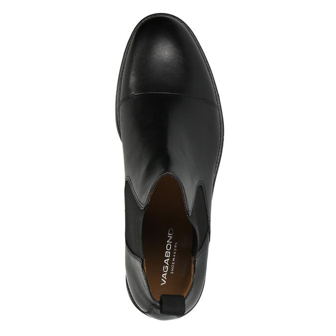 Męskie skórzane buty Chelsea Boots vagabond, czarny, 894-6002 - 19